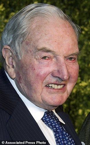David Rockefeller Rockefeller to mark 100th birthday with land gift in Maine