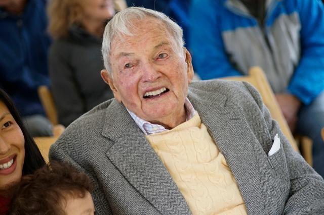 David Rockefeller 25 Life Lessons From 100YearOld David Rockefeller The