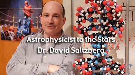 David Saltzberg Podcast Astrophysicist to the Stars NASA Blueshift