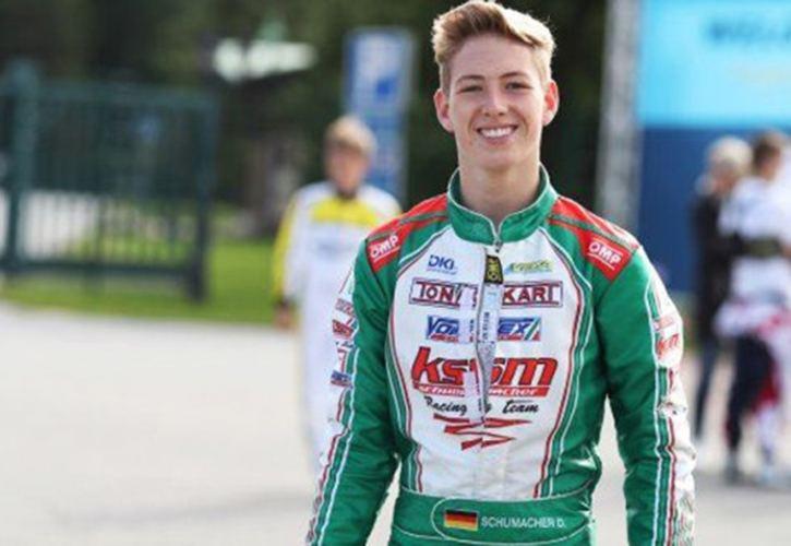David Schumacher David Schumacher sees a future for himself in Formula 1