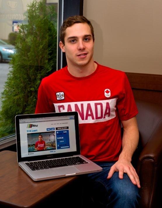 David Sharpe (swimmer) David Sharpe embarks on new Olympic pursuit Dalhousie Gazette