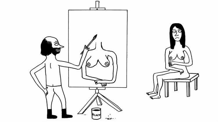 David Shrigley DAVID SHRIGLEY 39THE ARTIST39 2012 YouTube