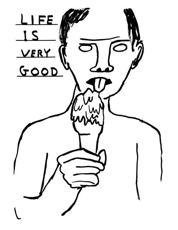 David Shrigley It39s Nice That Illustration Yes David Shrigley