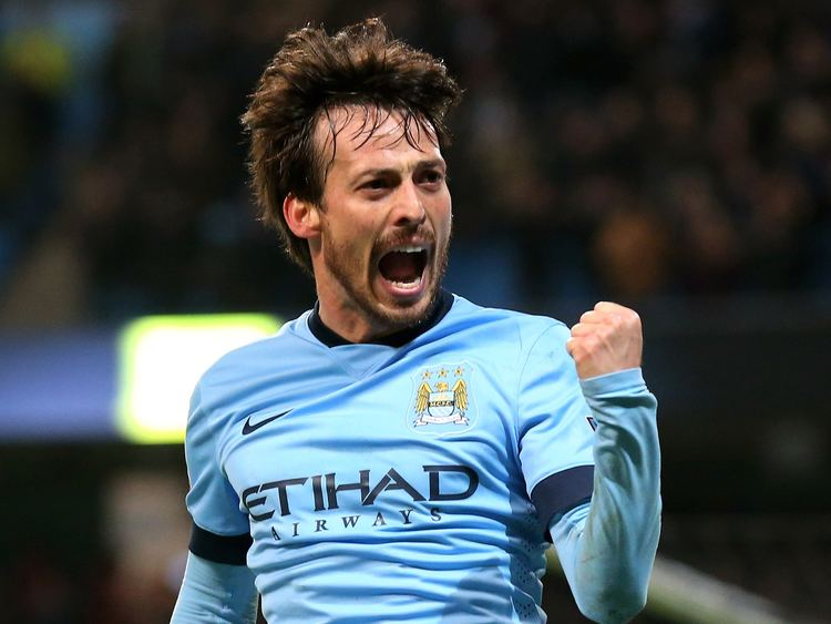David Silva Barcelona vs Manchester City David Silva backs City to