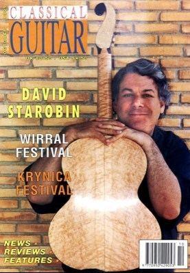 David Starobin Interview with guitarist David Starobin this is classical guitar