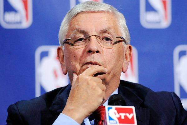 David Stern AllSanctioned Team Players coaches and a mascot that drew David
