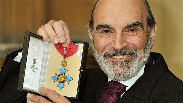 David Suchet CBE for Poirot actor David Suchet BBC News