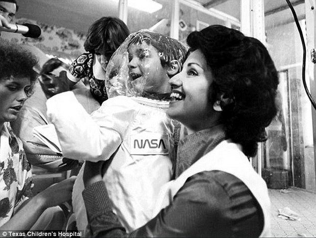 David Vetter Photos of Texan boy David Vetter who lived in bubble due to immune