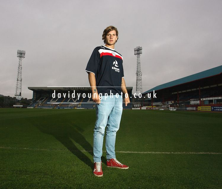 Davide Grassi Dundee FC new boy Davide Grassi David Young
