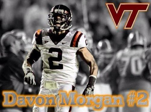 Davon Morgan QampA with former Virginia Tech Cornerback Davon Morgan