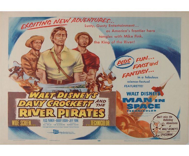 Davy Crockett and the River Pirates Davy Crockett and the River Pirates
