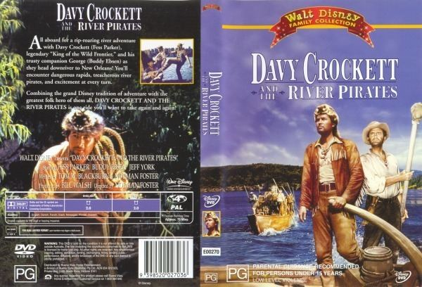 Davy Crockett and the River Pirates Davy Crockett And The River Pirates 9398520027036 Disney DVD