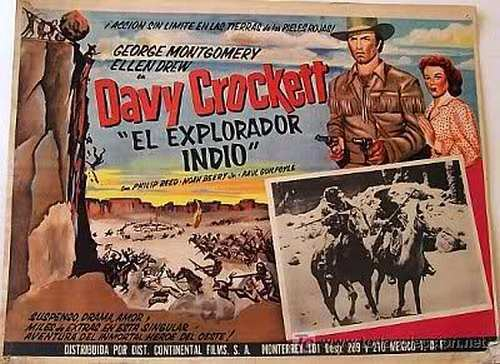 Davy Crockett, Indian Scout Lauras Miscellaneous Musings Tonights Movie Davy Crockett