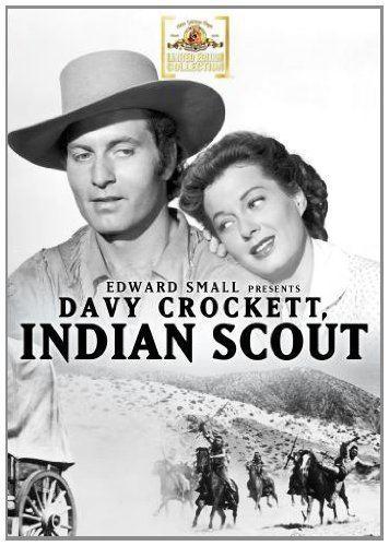 Davy Crockett, Indian Scout Amazoncom Davy Crockett Indian Scout George Montgomery Ellen