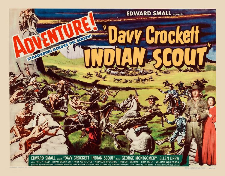 Davy Crockett, Indian Scout Davy Crockett Indian Scout United Artists 1950 Lobby Cards