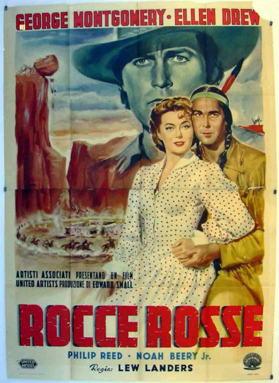 Davy Crockett, Indian Scout ROCCE ROSSE MOVIE POSTER DAVY CROCKETT INDIAN SCOUT MOVIE POSTER