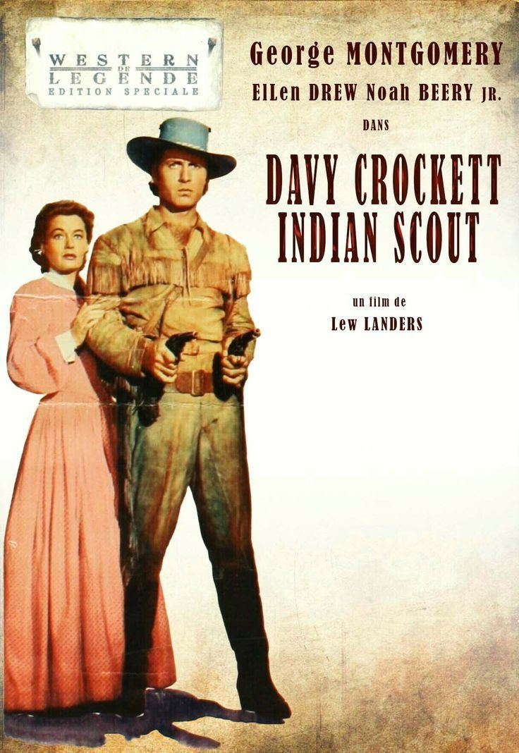 Davy Crockett, Indian Scout Davy Crockett Indian Scout 1950 Dvd Front Cover Pinterest