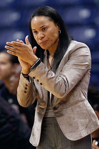 Dawn Staley Women39s basketball South Carolina upsets No 16 Tar Heels