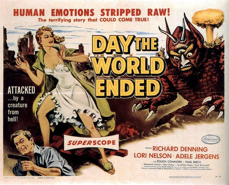 Day the World Ended Day the World Ended 1955 HORRORPEDIA