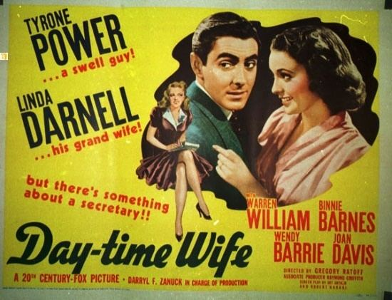 Day-Time Wife DayTime Wife 1939