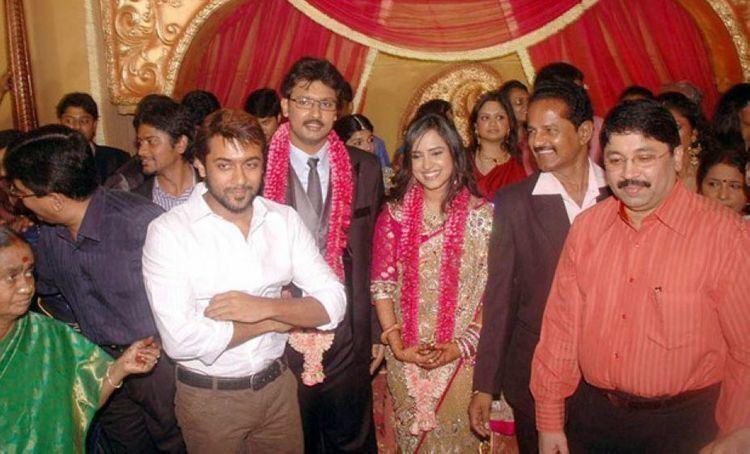 Dayanidhi Azhagiri Dayanidhi Azhagiri Marriage Wedding Reception Photos Pics