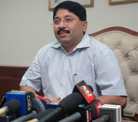 Dayanidhi Maran Dayanidhi Maran Politician picture biography family details