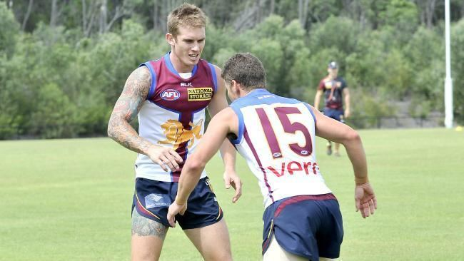 Dayne Beams Dayne Beams opens up on move to Brisbane family and football with