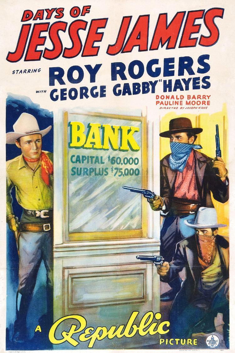 Days of Jesse James wwwgstaticcomtvthumbmovieposters7019p7019p