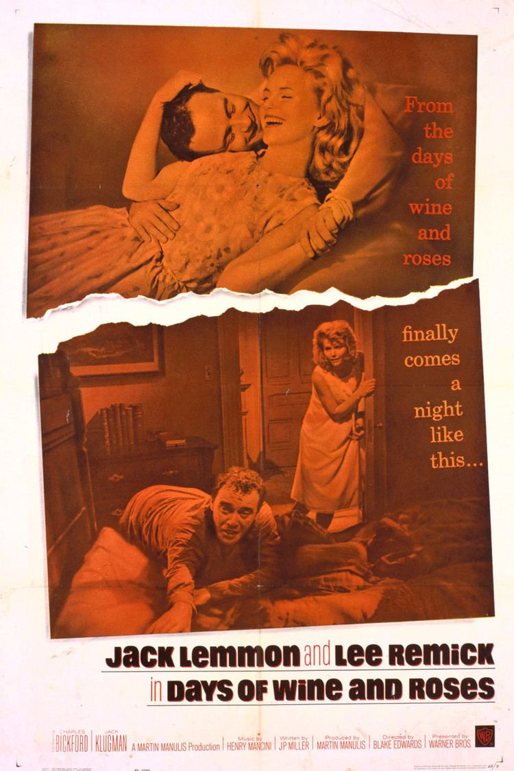 Days of Wine and Roses (film) wwwgstaticcomtvthumbmovieposters3694p3694p