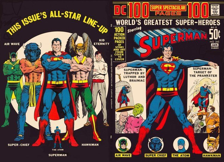 DC 100 Page Super Spectacular Welcome to the DC 100 Page Super Spectacular Page