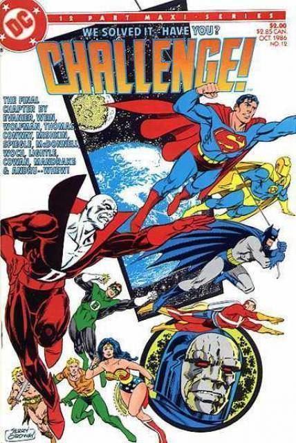 DC Challenge DC Challenge Volume Comic Vine