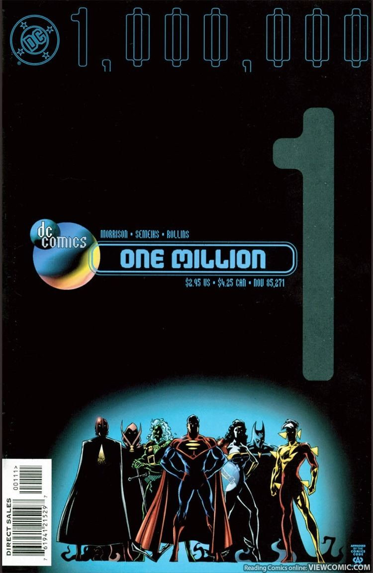DC One Million DC One Million 01 1998 Viewcomic reading comics online