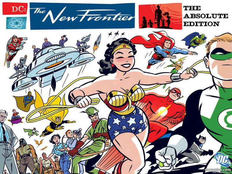 DC: The New Frontier - Alchetron, The Free Social Encyclopedia