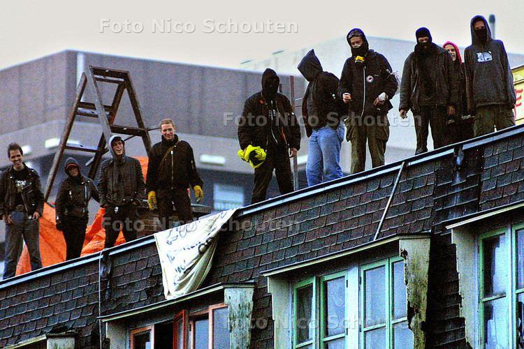 De Blauwe Aanslag Oktober 2003 Foto Nico Schouten Persfotograaf in Den Haag en