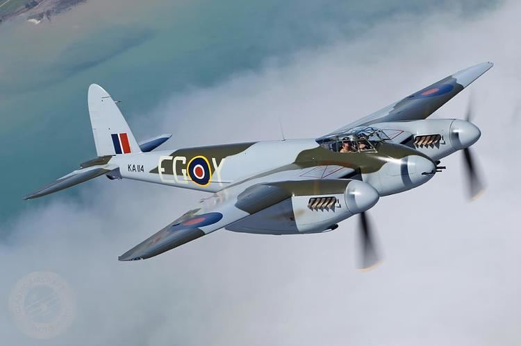 De Havilland Mosquito World39s Only Flying Mosquito Flew Today