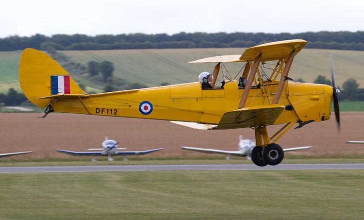 De Havilland Tiger Moth FileDe Havilland DH82 Tiger Moth DF112 5922558463jpg Wikimedia