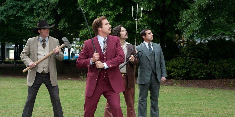 Dead Air (2007 film) movie scenes Anchorman 2 is a mixed bag of a comedy sequel but for every moment of dead air there are at least two or three with great laughs that are up to par with