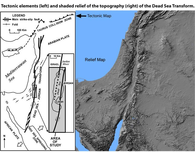 Dead Sea Transform Peace and Science in the Middle East Tectonics