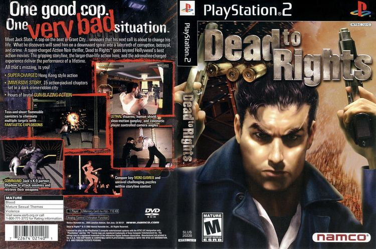 Dead to Rights Dead To Rights Cover Download Sony Playstation 2 Covers The Iso Zone