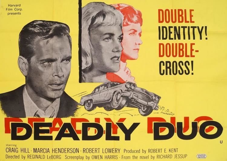 Deadly Duo (1962 film) Deadly Duo 1962 Harvard Film Corp United Artists UK Quad