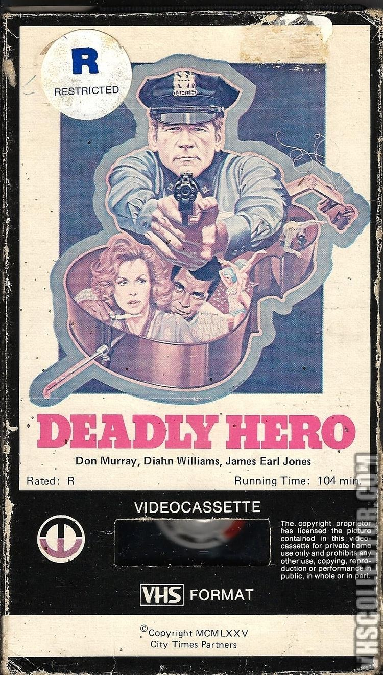 Deadly Hero Deadly Hero VHSCollectorcom Your Analog Videotape Archive