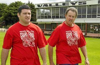 Dean Bosnich Dean Bosnich raising the Bar Toowoomba Valleys Roosters RLFC