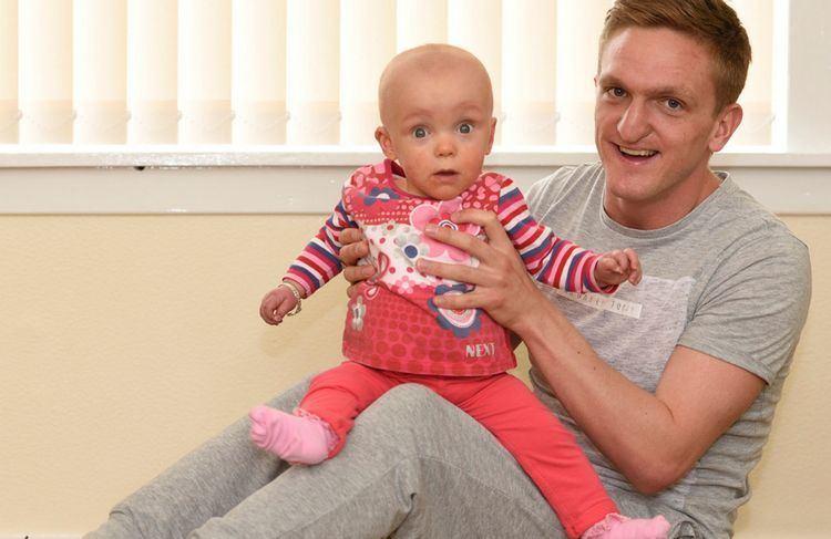 Dean Brett footballer Dean Brett determined to rebuild his life with little Mia