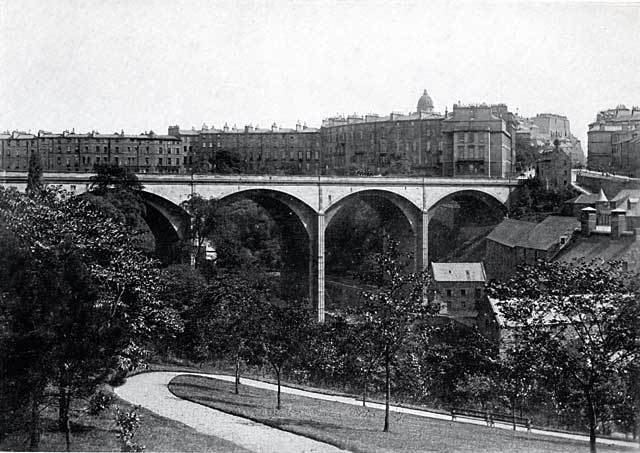Dean Bridge W R amp S Photograph from around the early 1900s Dean Bridge