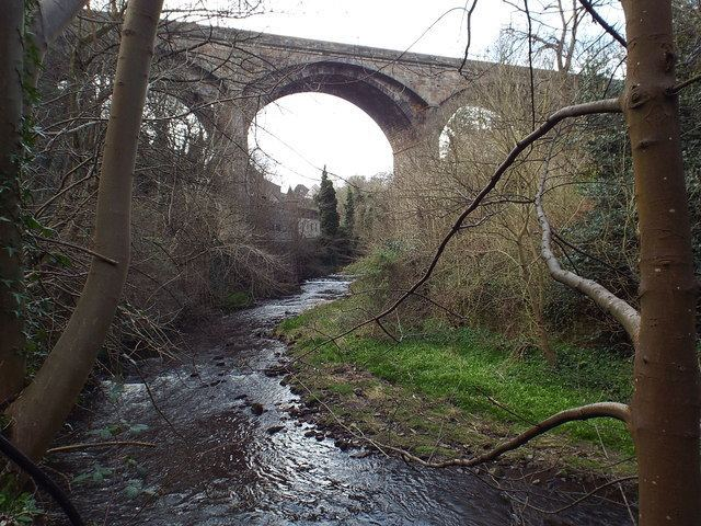 Dean Bridge Water of Leith and Dean Bridge Malc McDonald Geograph