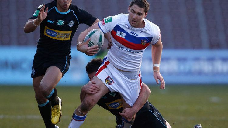 Dean Collis Australian centre Dean Collis signs new contract with Wakefield