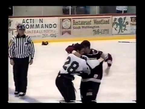 Dean Mayrand Dean Mayrand vs Joel Theriault LNAH 19 09 04 YouTube