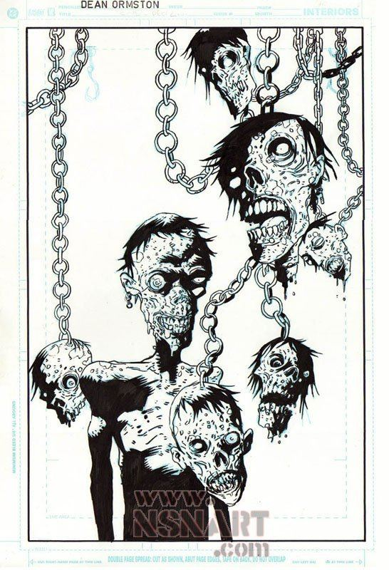 Dean Ormston dean ormston Comic Art For Sale From Comic Art Dealers