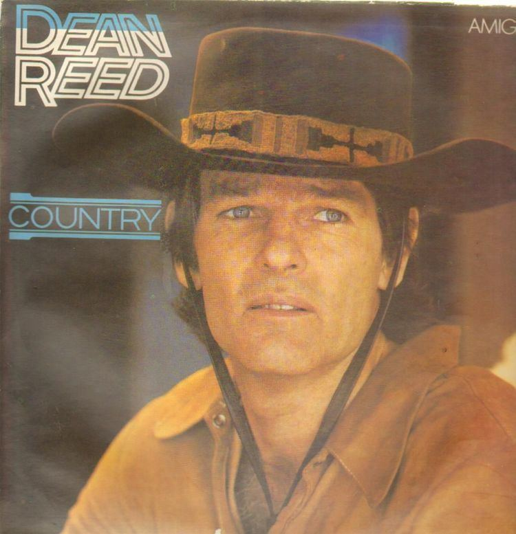 Dean Reed Album COUNTRY by DEAN REED on CDandLP