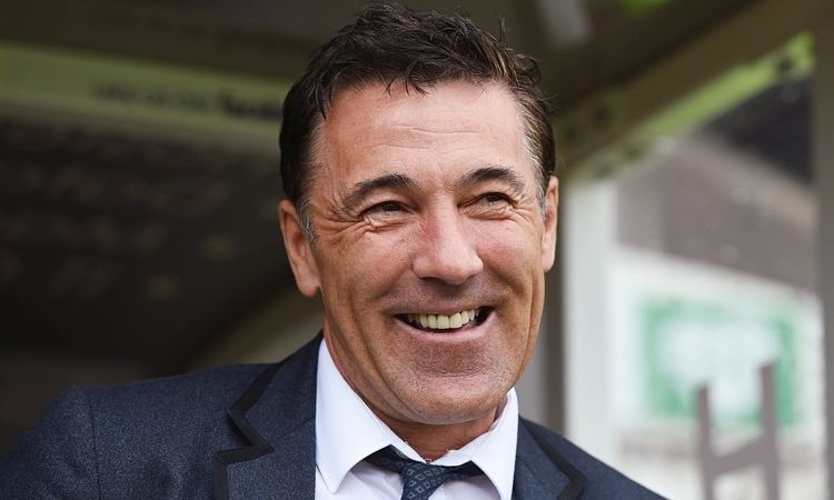 Dean Saunders Chesterfield appoint Dean Saunders after Paul Cook39s exit